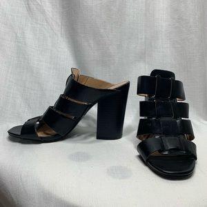 Express Slide Block Heel SZ 6